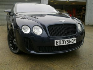 Bentley GT with Supersport Bonnet Conversion