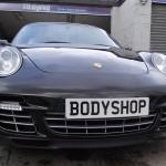 Porsche Turbo black