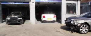 Bentley repair specialist Ilford Essex