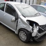 Accident damaged Citreon